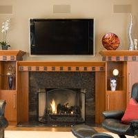Custom 7A: Fireplace Surround